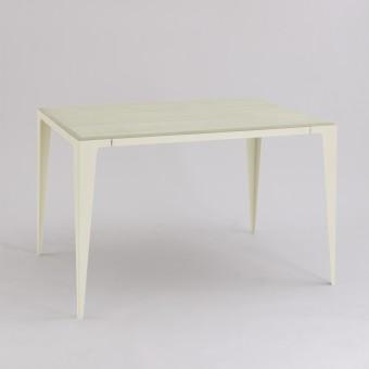 TISCH |CHAMFER| Seiden-Grau | nachhaltiges Möbeldesign | WYE