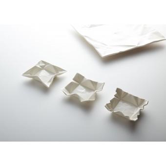 moij design Origami Dipschale natur