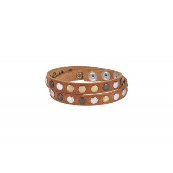 FILDPIECES Armband JUN (cognac)