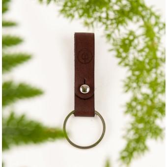 DUKTA – Schlüsselanhänger klein braun