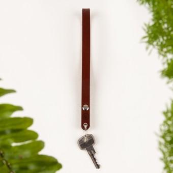 DUKTA – Schlüsselanhänger lang braun