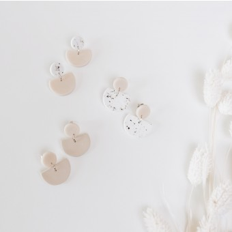 EVE + ADIS // ACUNA EARRINGS speckled