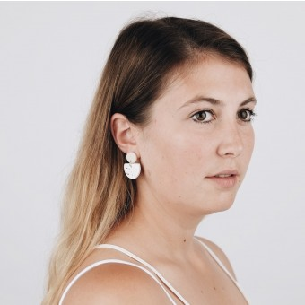 EVE + ADIS // ACUNA EARRINGS speckled