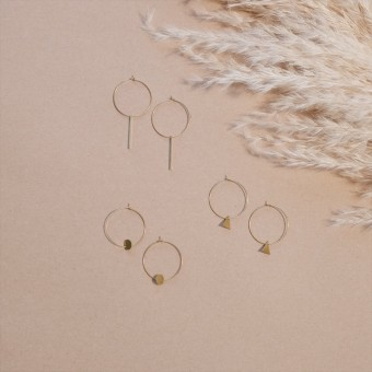 EVE + ADIS // LOOP EARRINGS
