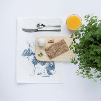"""Frühstücksbrettchen - """"Ei-Pad"""" aus Eschenholz (klein) - Anton Doll Holzmanufaktur"""