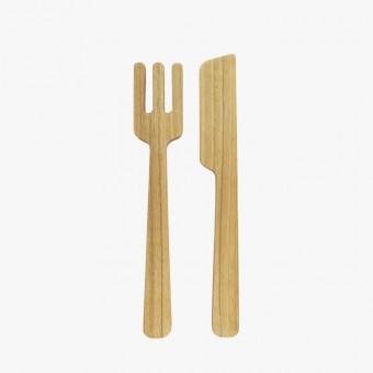 EINFACHDESIGN, Untersetzer Holz, Besteck