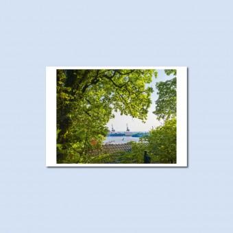 'Elbe' Postkarte, DIN A6, klimaneutral gedruckt / Ankerwechsel Verlag