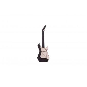 BeWooden Holzbrosche - Electric Guitar Brooch