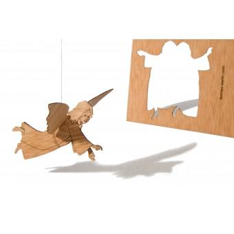formes Berlin Engelkarten - 6 Postkarten aus Holz