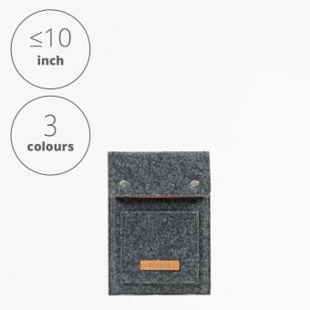 RÅVARE Tablet Sleeve Case Hülle mit Druckknöpfen für verschiedene Modelle in Größe XS und in verschiedenen Farben [ENNO XS]