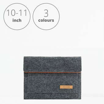 RÅVARE Tablet Sleeve Case Hülle mit Klettlasche für verschiedene Modelle in Größe S und in verschiedenen Farben [ESMA S]