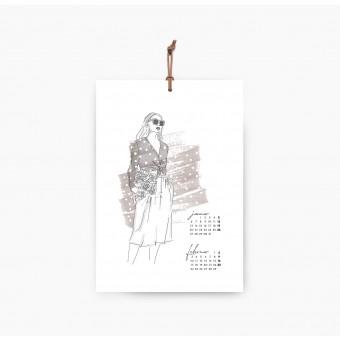 Kruth Design KALENDER 2020 / FASHION