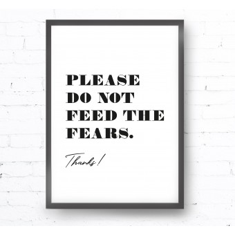 Kruth Design POSTER / FEARS