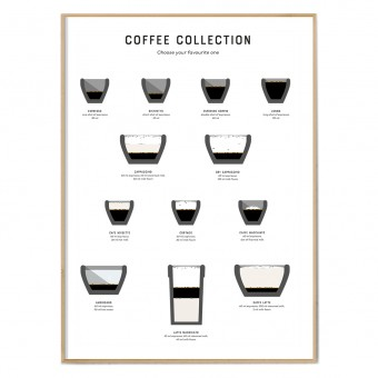 FOX&POET Poster *COFFEE COLLECTION*