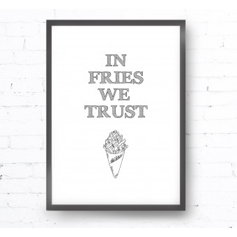 Kruth Design POSTER / FRIES