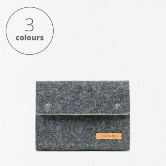 RÅVARE Kabeltasche Laptop Notebook Zubehör mit Druckknöpfen in verschiedenen Farben [FEMKE]