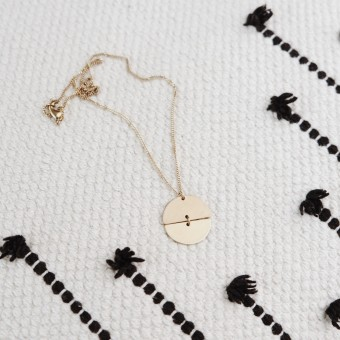 BRASSCAKE // Jupiter Necklace
