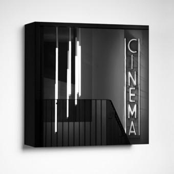 FrankfurterBubb CINEMALimited Edition schwarz-weißFoto-Kachel