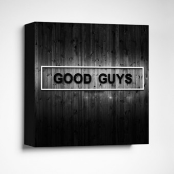 FrankfurterBubb GOOD GUYS Limited Edition  schwarz-weiß Foto-Kachel