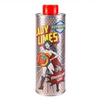 Lady Limes - Erdbeerlimes - Superhero Spirits - 0,5 l - 20% vol. Alk.