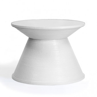 """Beistelltisch """"Paper Table Mid Size White"""""""