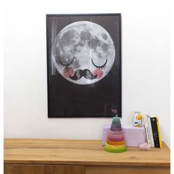 Martin Krusche - Poster »Für Neil« schwarz