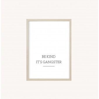 Kruth Design POSTER / GANGSTER