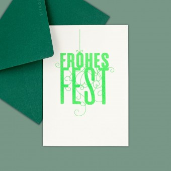 Feingeladen // FANCY TYPE // Frohes Fest (FG) – A6