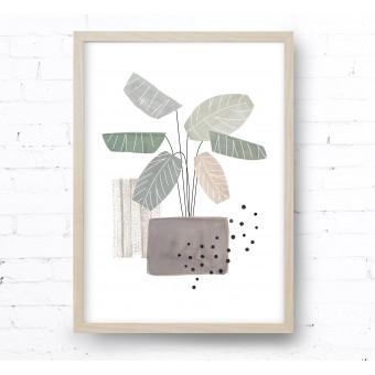 Kruth Design POSTER / GEO PLANT