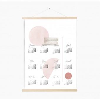 Kruth Design KALENDER 2020 / GEO ROSE