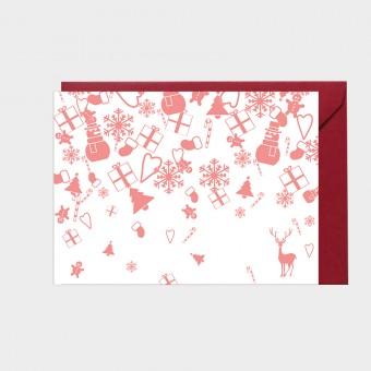 HOOK&EYE Grußkarte 'XMAS' 3er-Set