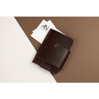 Alexej Nagel Gentleman Slim Wallet aus Premium Leder - Braun [BR]