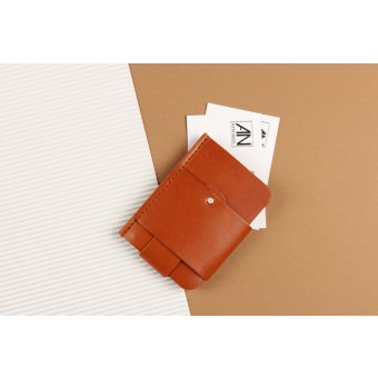 Alexej Nagel Gentleman Slim Wallet aus Premium Leder - Cognac [CO]