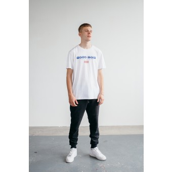 Goodbois Euro Flag T-Shirt white