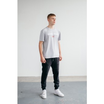Goodbois Euro Flag T-shirt grey