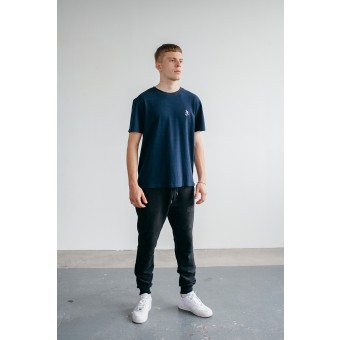 Goodbois Player Icon Piqué T-Shirt navy