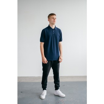 Goodbois Signature Polo Shortsleeve navy