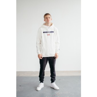 Goodbois Euro Flag Hoody off-white