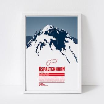 Marmota Maps – Gspaltenhorn - Bergdruck