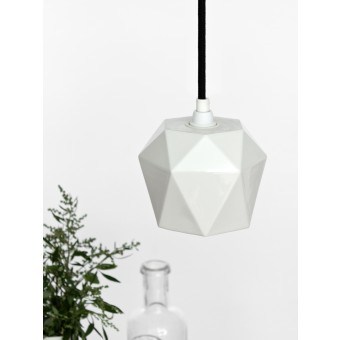 GANTlights - Porzellan Hängelampe trianguliert [K1]