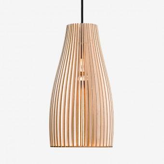 ENA L Pendelleuchte aus Holz (natur)