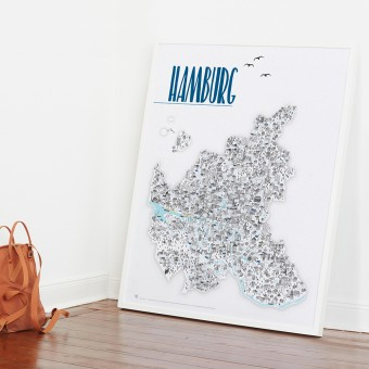 Rapü Design Hamburg Poster