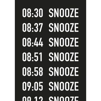 Donnie O'Sullivan — Morning Appointments (Originalserigrafie 100x70 cm) Siebdruck