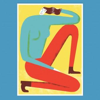 Anne Albert – Hej – Siebdruck (25 x 35 cm)