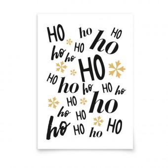 aprilplace // Ho Ho Ho // Weihnachtskarte A6