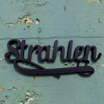 NOGALLERY Strahlen - Deko Schriftzug Holz