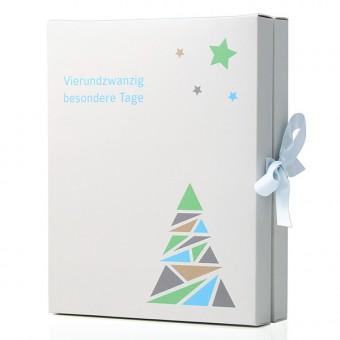 Anoa Adventskalender, 24 Schmuckstücke, Geschenk für Frau, komplett gefüllt