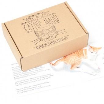 karolchicks Upcycling-Katzenspielzeug Catnip-Mausi zum Nachfüllen