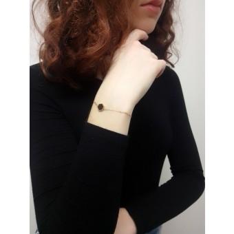 BeWooden Armband mit Holzdetail - Lux Hexagon Bracelet