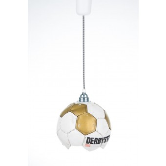 Fussball Lampe Upcycling